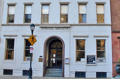 Ethical Society on Rittenhouse Square, Philadelphia PA