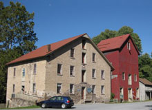 Stockton's Prallsville Mills on the Delaware