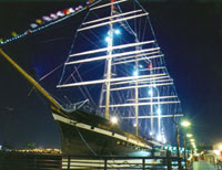 Sailing Ship on the Delaware, Catering Site, Philadelphia PA